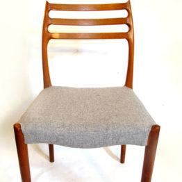 Scandinavian style dining chair