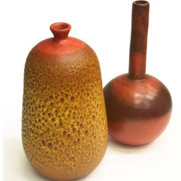 Handmade Vases by José Arellano Castelló for Arellano, 1970s, Set of 2