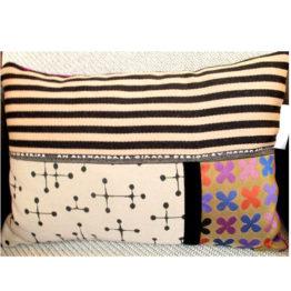 Hand made cushion.