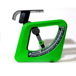 green kitchen scale. Germany.